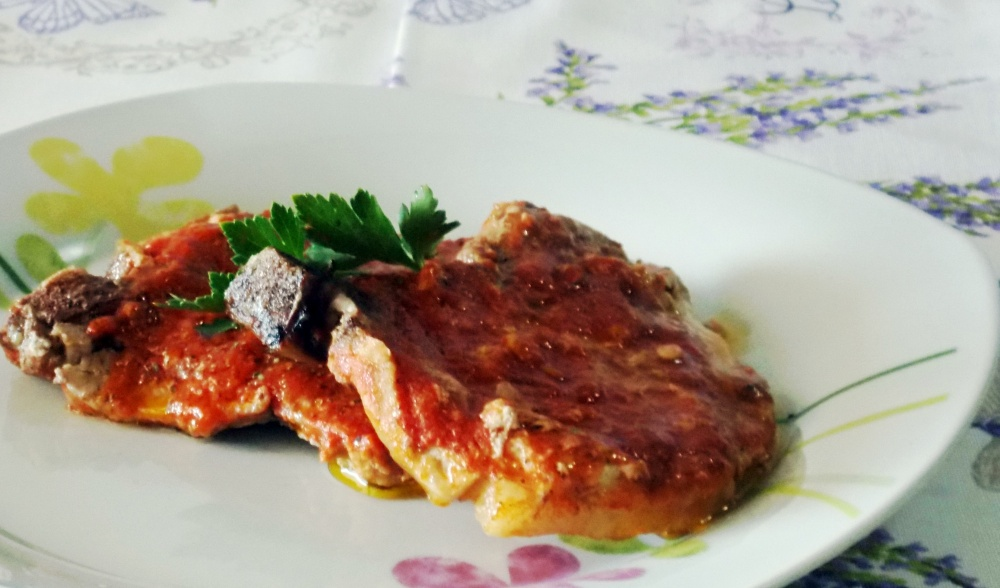 Bistecche in Padella al Lambrusco