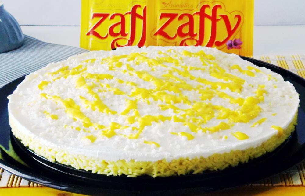 Cheesecake di Riso Basmati allo Zafferano e Ricotta