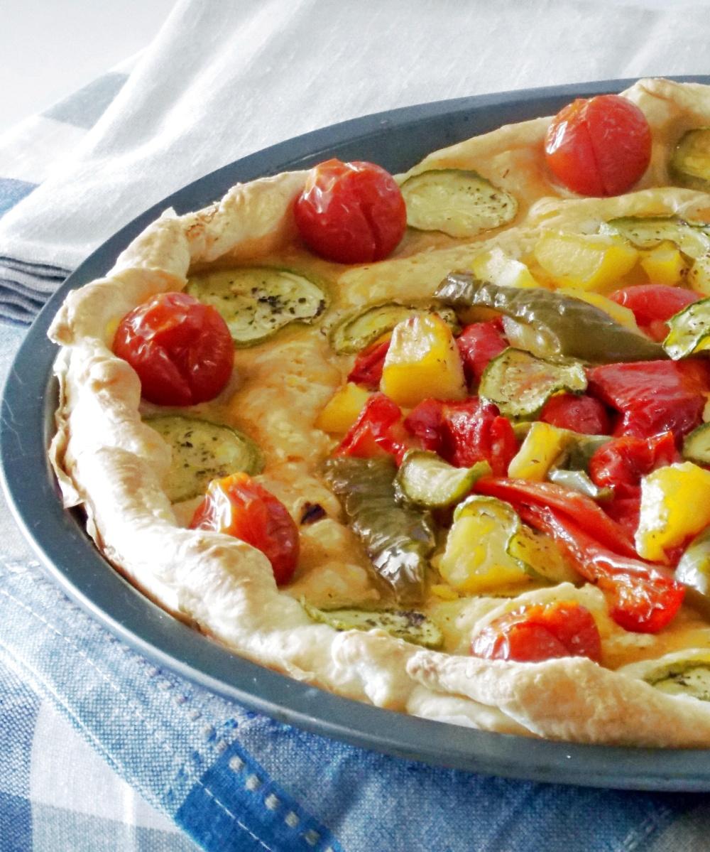 Torta Salata di Sfoglia alle Verdure
